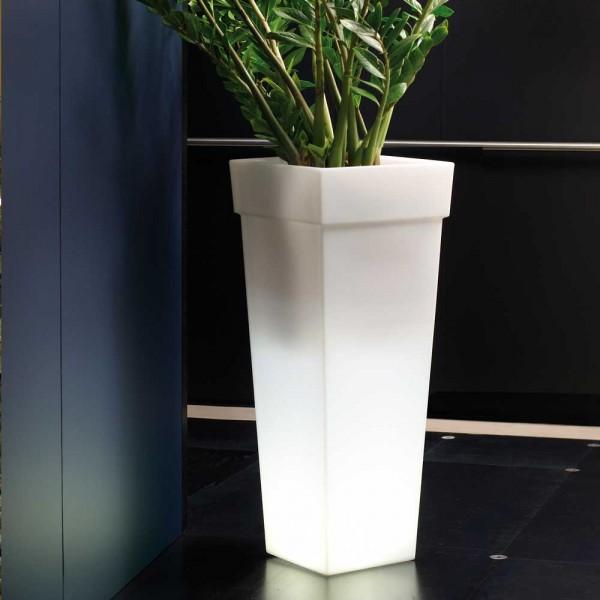 Vase Leucht Gefäß aus Kunststoff Model:Geryon