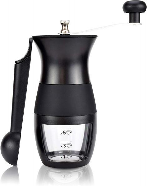Milu® Manuelle Kaffeemühle Handkaffeemühle mit Keramik Mahlwerk