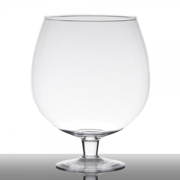 "Glas ""Brandy"" Klar Höhe 30 od. 38 cm"