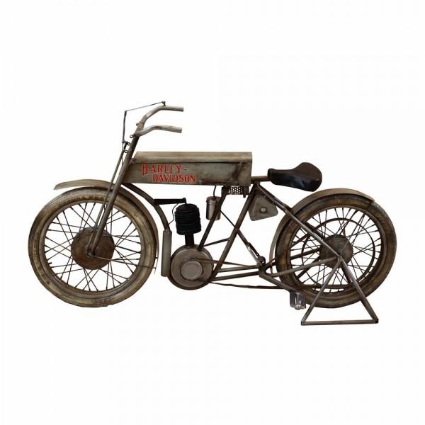Originelles Motorrad aus Metall Harley