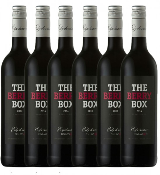 Edgebaston Berry Box Red 6 x 0,75l