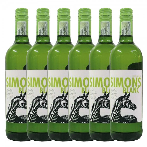 6 x 0,75l Simonsvlei Simonsblanc Weißwein | Trocken | Südafrika