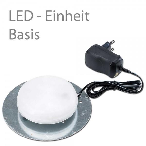 LED Basiseinheit für Leuchtgefäße mit LED