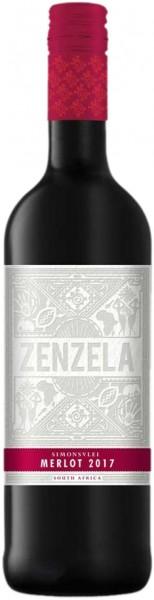 Simonsvlei Zenzela Merlot 0,75l Rotwein | Trocken | Südafrika