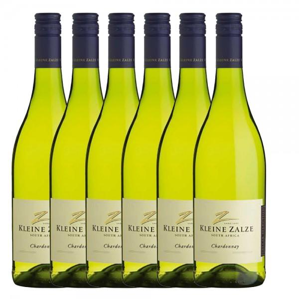 Kleine Zalze - Cellar Selection Chardonnay - 6 x 0,75l Jahrgang 2018