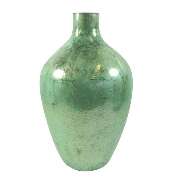 Glasvase Hellgrün 48 cm Höhe