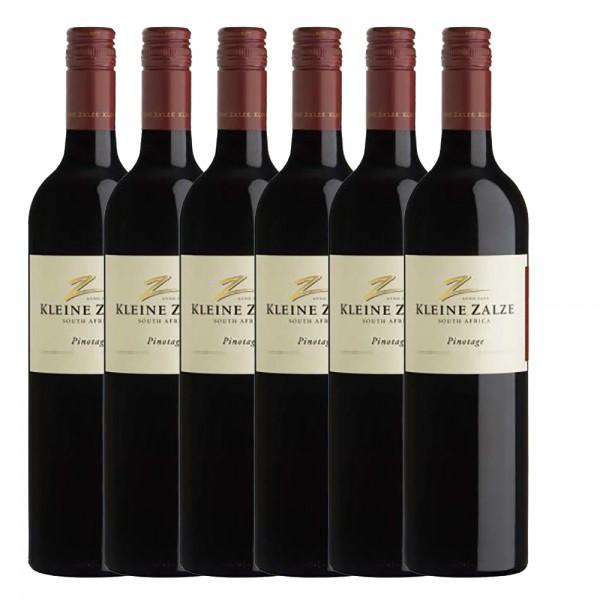 Kleine Zalze Cellar Selection Pinotage Rotwein | Südafrika | Trocken 6 x 0,75l