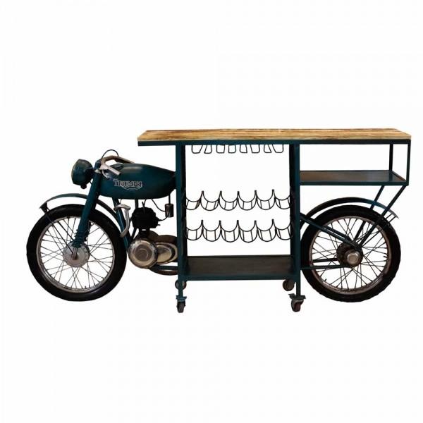 Originelles Barregal, Motorrad Triumph