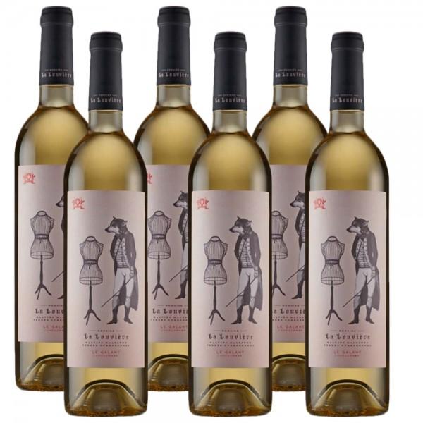 Louvière Le Galant Chardonnay - Frankreich 6 x 0,75l