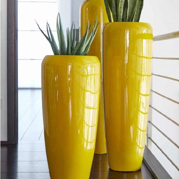 Glasfaser Vase Harmonia in drei Größen - Lackcurry