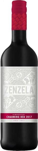 Simonsvlei Zenzela Charming Red 0,75l Rotwein | Trocken | Südafrika