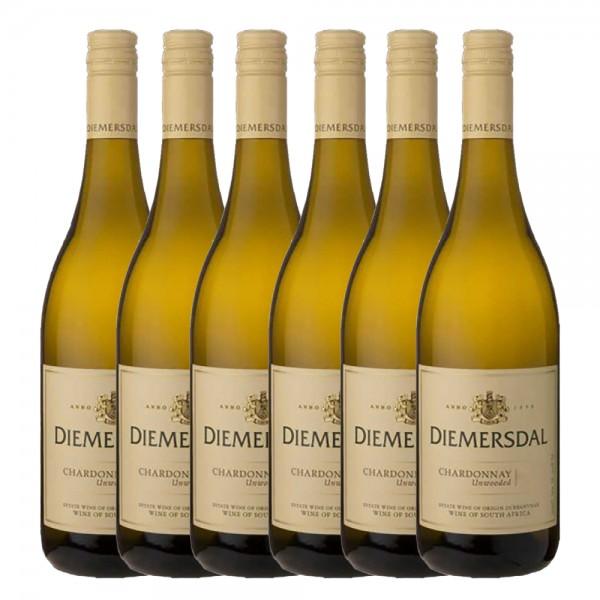 Diemersdal Estate Chardonnay unwooded | Südafrika 6 x 0,75l