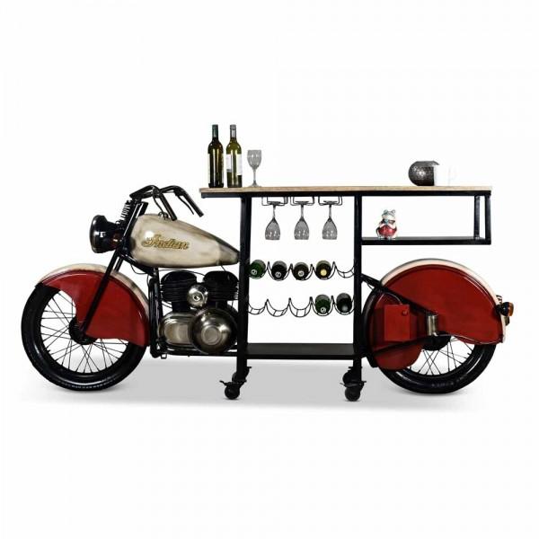 Originelles Barregal, Motorrad Gilder in Rot