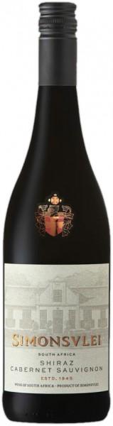 Simonsvlei Shiraz-Cabernet Sauvignon 0,75l Rotwein | Trocken | Südafrika