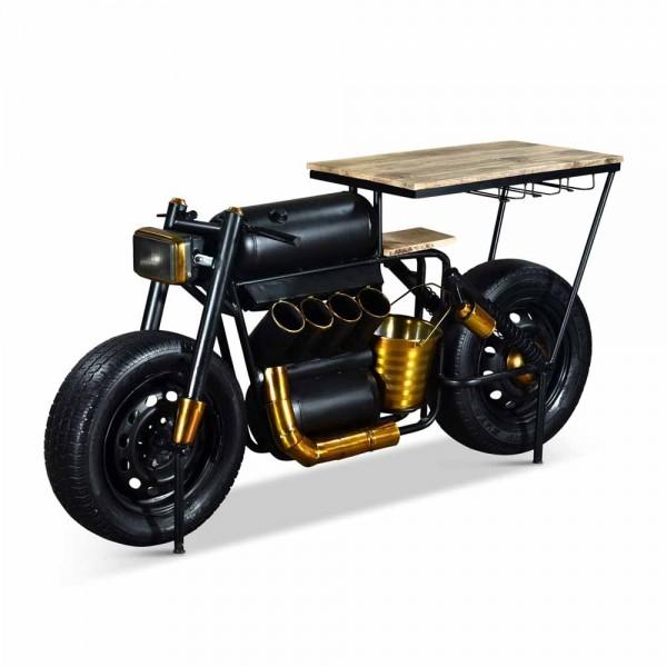 Originelles Barregal, Motorrad Vector