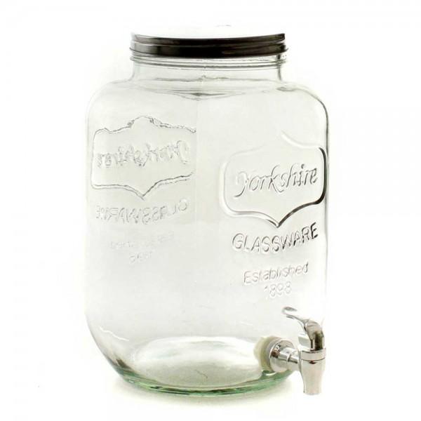 Glasgetränkespender für 6 Liter Ø20cm