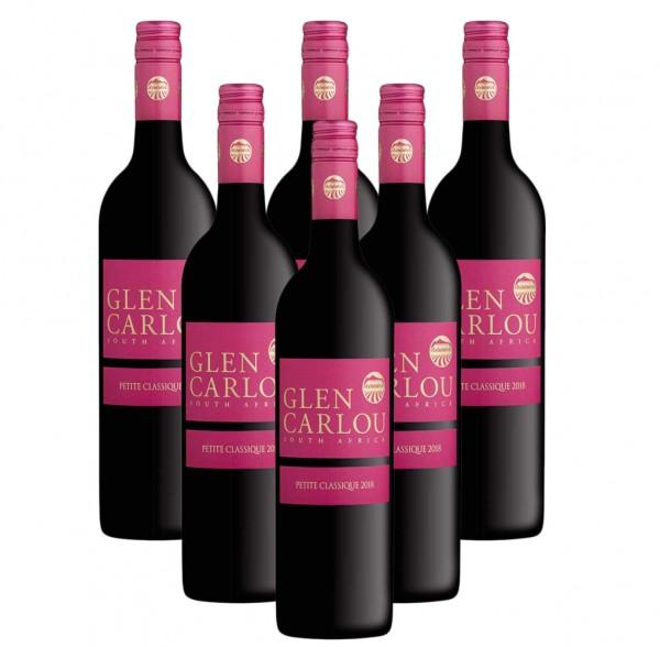 6 x 0,75l Clen Carlou Petit Classique Rotwein | Trocken | Südafrika