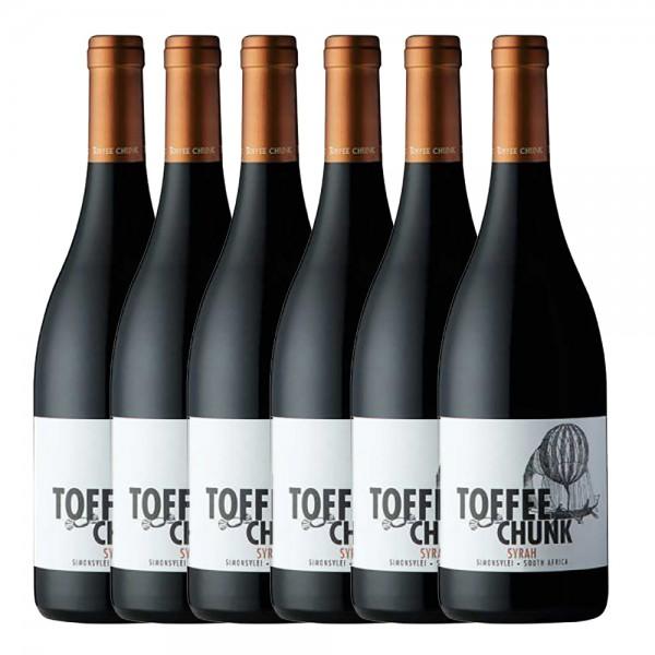 6 x 0,75l Simonsvlei Toffee Chunk Syrah Rot | Trocken | Südafrika