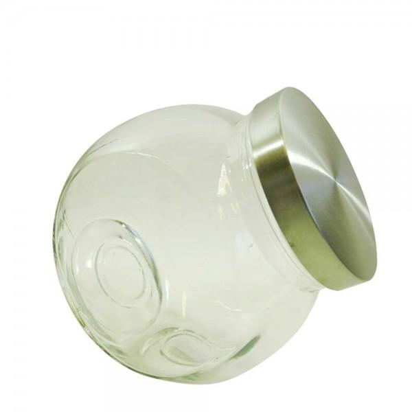 Glasbonboniere mit Deckel (2 Stück) und variablen Stand