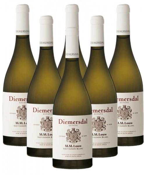 6 x 0,75l MM Louw Sauvignon Blanc Weißwein | Südafrika | Trocken