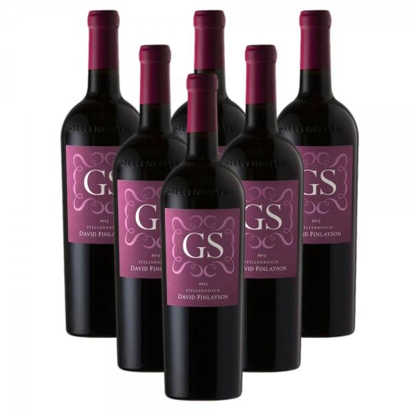 6 x 0,75l Edgebaston GS Cabernet Sauvignon Rotwein | Trocken | Südafrika
