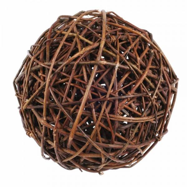 15cm Weidenkugel natur Rebenkugel Weidenball Dekoball Dekokugel Gartenkugel Weide