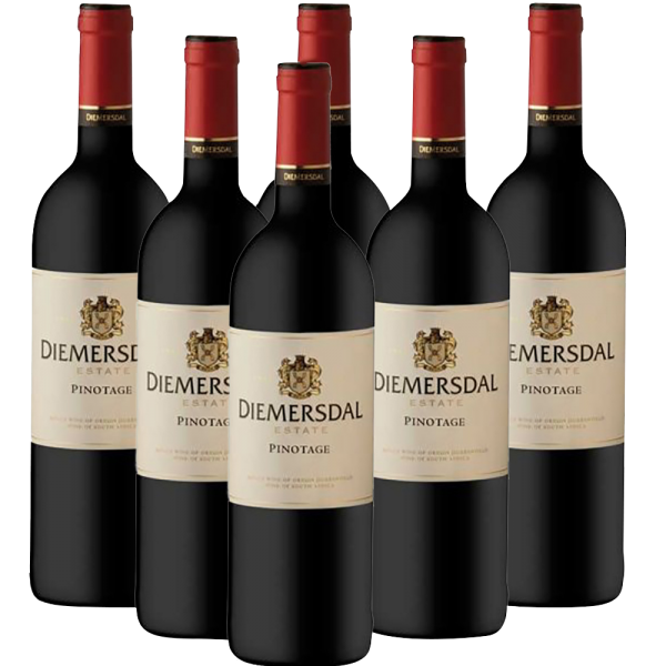 Diemersdal Mays Pinotage Rotwein 6 x 0,75l
